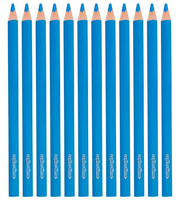 Jumbo Buntstifte Mine 5mm himmelblau 12St. – Bild 2