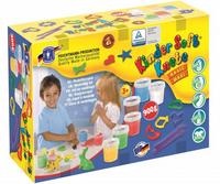Kinder Soft Knete Basic Maxi, ca. 1.070 g + Förmchen