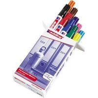 edding Permanentmarker farbig sortiert 10 Stück