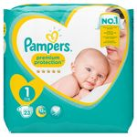 Pampers Premium Protection New Baby Gr.1 Newborn 2-5kg, 72 Stk. 001