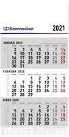 Wandkalender / 3 Monatskalender