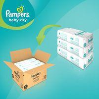 Pampers Baby Dry Gr. 4 (9-14 Kg), 174 Windeln – Bild 3
