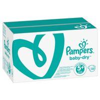 Pampers Baby Dry Gr. 5+ (12-17 kg), 132 Windeln – Bild 2