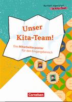 Perfekt organisiert im Kita-Team - Mitarbeiter-Poster