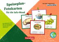 Perfekt organisiert im Kita-Alltag - Speiseplan-Fotokarten