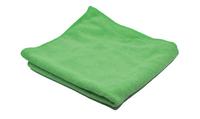 Microfasertuch frotty grün, 40x40 cm, 10 Tücher – Bild 1