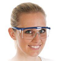 Allzweck-Schutzbrille, verstellbar, transparent