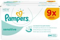 Pampers Feuchttücher Sensitive, Vorratspack (6 Kartons)