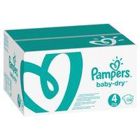 Pampers Baby Dry Gr. 4 (9-14 kg), Vorratspack (4 Kartons) – Bild 2