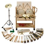 Musikwagen 1 groß, Percussion, 51-teilig 001