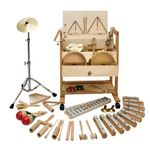 Musikwagen 2 groß, Percussion, 57-teilig, Deluxe-Edition