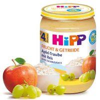 HIPP Apfel-Traube mit Reis (nach dem 4. Monat), 6x190 g