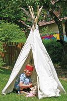 Tipi-Zelt klein, Höhe 160 cm – Bild 2