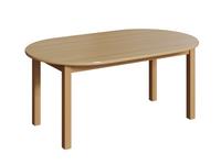Ovaltisch, 160x120 cm – Bild 1