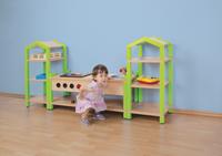 Fertig-Regalsystem Johanna mit Spielküche – Bild 2