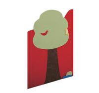 Wandmatte Laubbaum – Bild 1