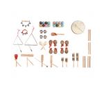 Rhythmikset 3 - 60 Teile inkl.  Rollcontainer
