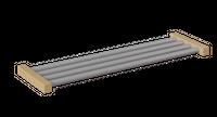 Aluminium-Schuhrost Felix – Bild 1
