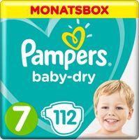 Pampers Baby Dry Gr. 7 (15+ kg), 112 Windeln – Bild 1