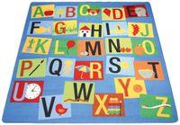 Teppich Buchstaben, 200x200 cm