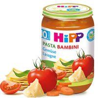 Hipp Pasta Bambini Gemüselasagne (ab 10. Monat), 6x220g