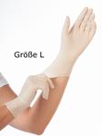 Handschuhe Latex, puderfrei, Gr. L, 100 Stk.