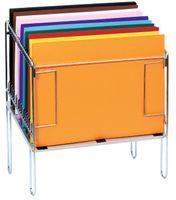 Papier-Sortier-Ständer aus Metall, 73x89x46 cm – Bild 1