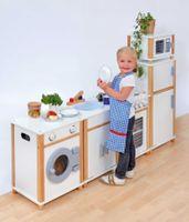 Kinder-Modulküche, weiß – Bild 1