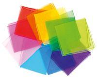 10 Jongliertücher (Chiffon) in 10 Farben – Bild 1
