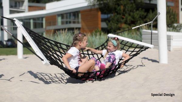 h ngematte mit pfosten garten au enbereich outdoor spielger te sonstige spielger te 3892. Black Bedroom Furniture Sets. Home Design Ideas