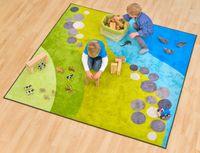 Spielteppich - Landscape, 200x200 cm – Bild 1