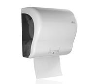 Autocut Papierrollenspender, weiß, Kunststoff