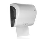 Autocut Papierrollenspender, weiß, Kunststoff 001