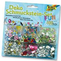 """Schmucksteine Set """"Fun"""" (Folia), über 800 Teile, 1 Set"""