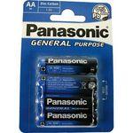 Batterie Panasonic R6 Mignon AA 2x4 Stk. 001