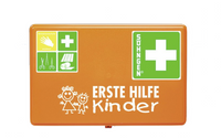 Erste Hilfe Verbandkasten, Kinder bis 6 Jahre