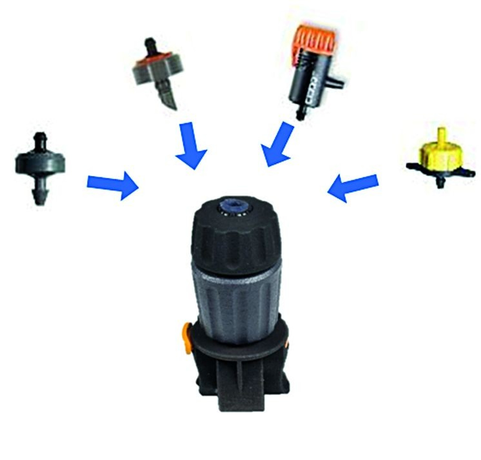 Adapter Nut 5er Pack