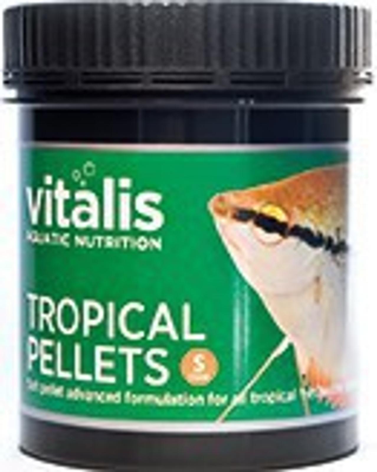 vitalis Tropical Pellets 120 g Ø 1 mm für tropische Süßwasserfische – Bild 1