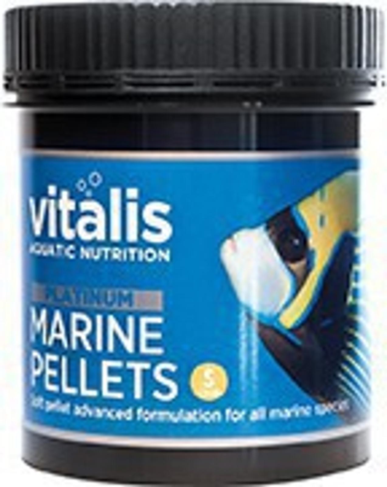 vitalis Platinum Marine Pellets 120 g Ø 1 mm für Meerwasserfische – Bild 1