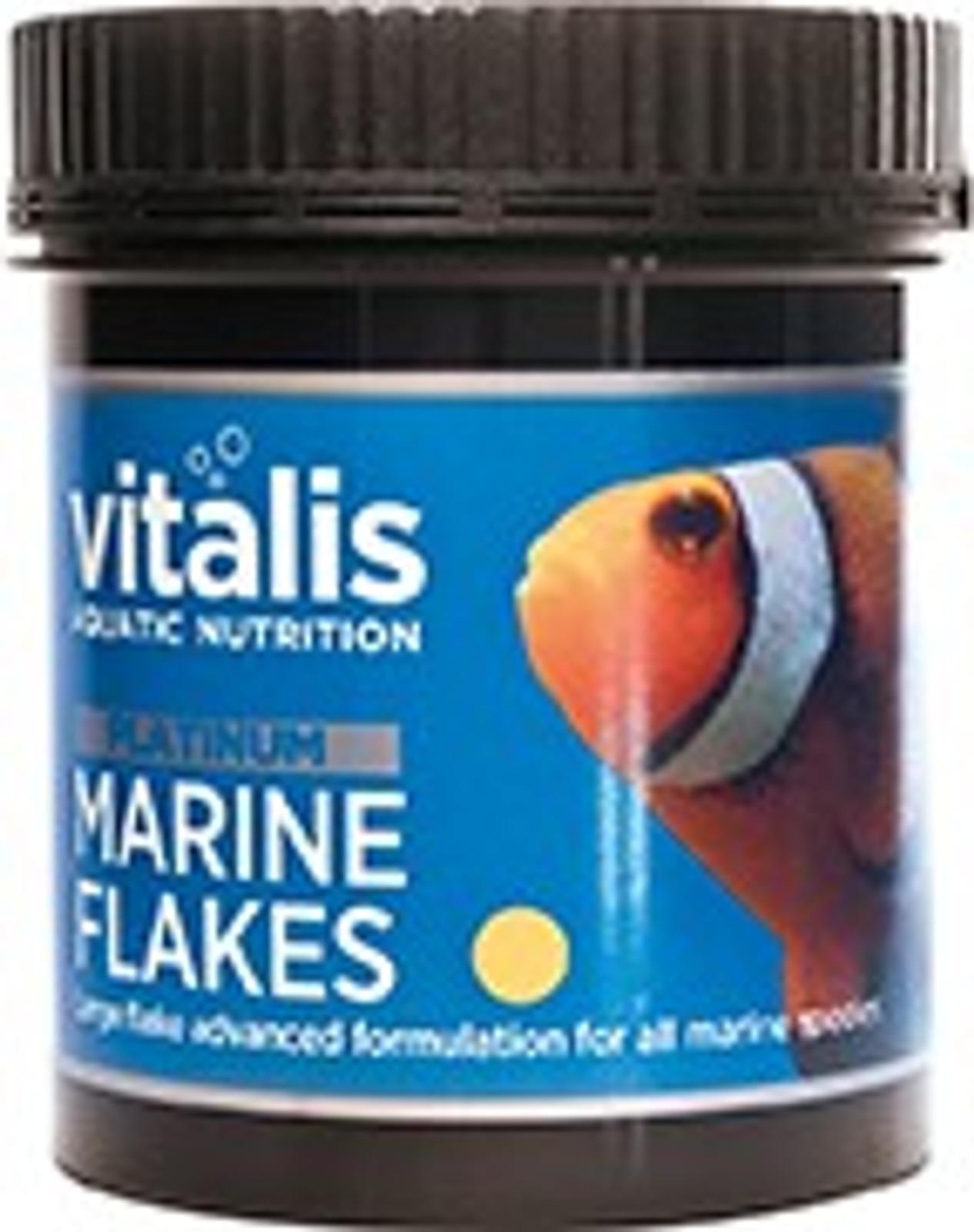 vitalis Platinum Marine Flakes 30 g für Meerwasserfische – Bild 1