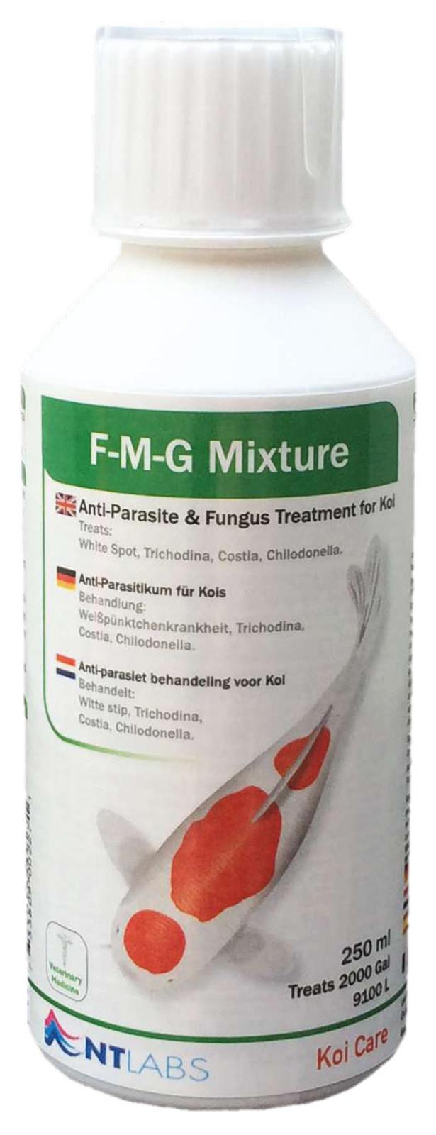 Koi Care F-M-G Mixture, 2.500 ml - Gegen Pilze und Parasiten