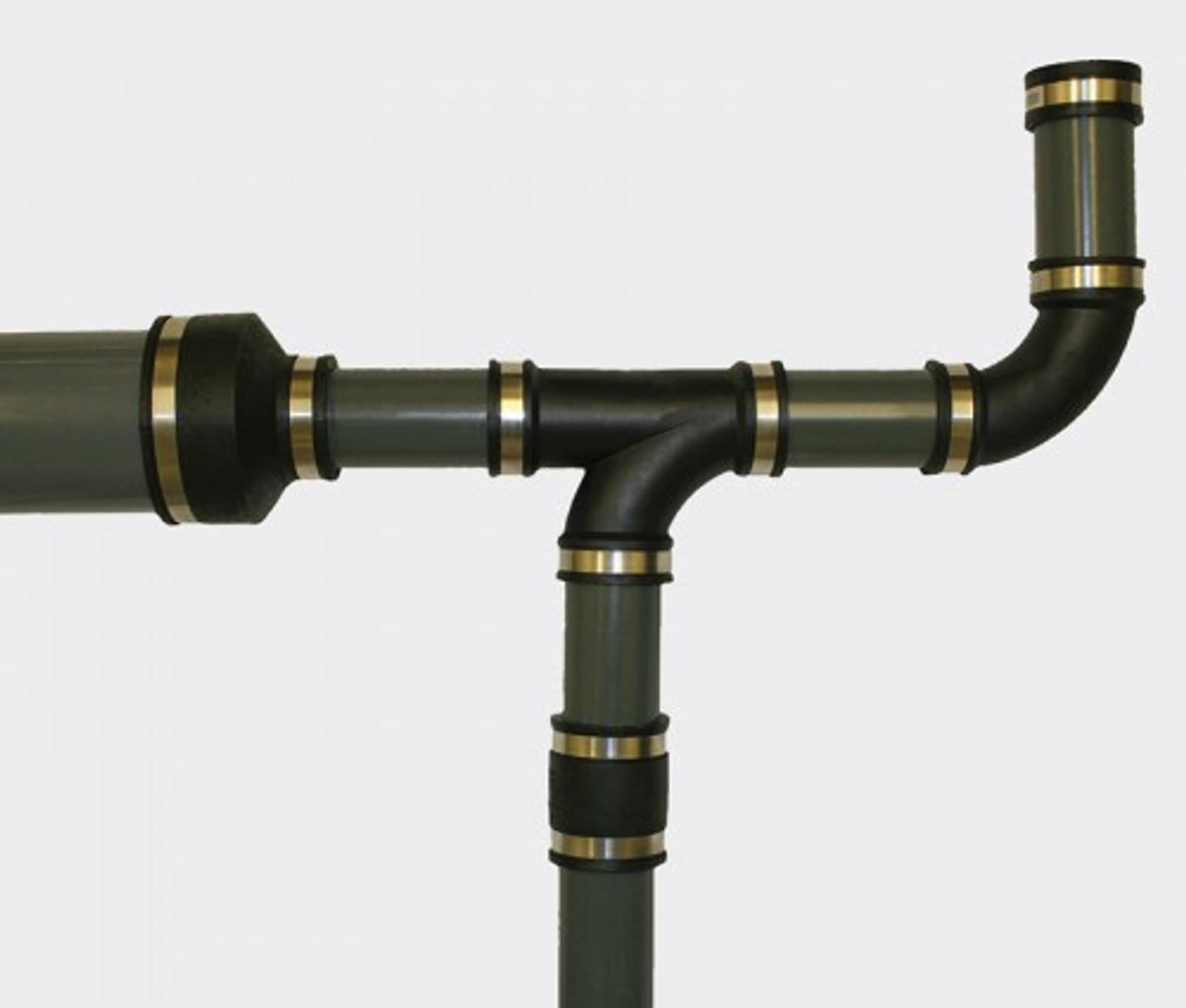 Flex. PVC-Manschette, Reduz.  Ø 115-102 mm / 63-50 mm – Bild 2
