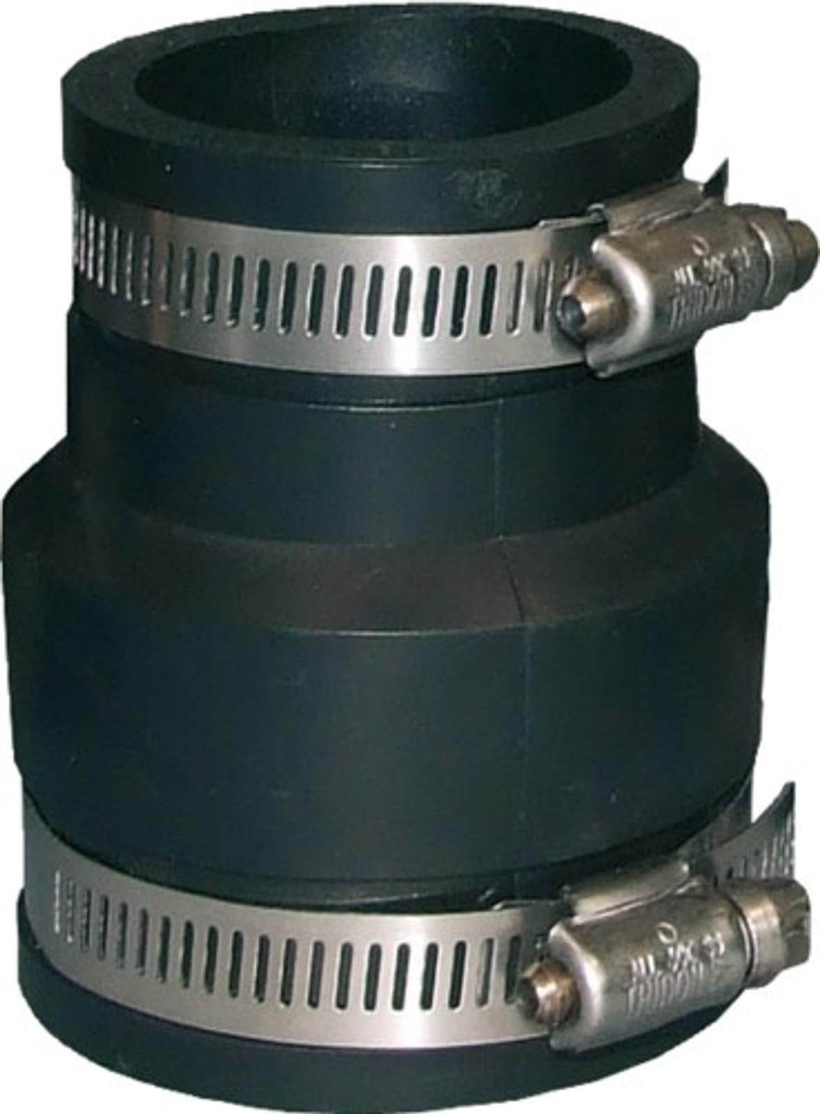 Flex. PVC-Manschette, Reduz.  Ø 115-102 mm / 63-50 mm – Bild 1