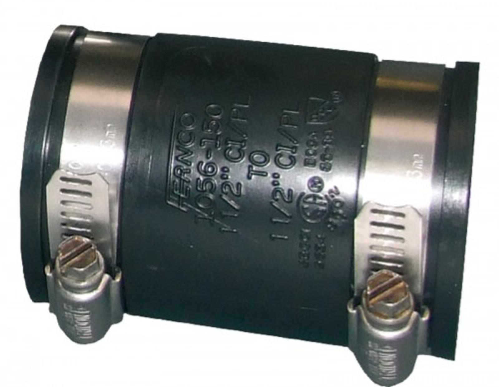 Flex. PVC-Manschette, Muffe, Ø 63-57 mm