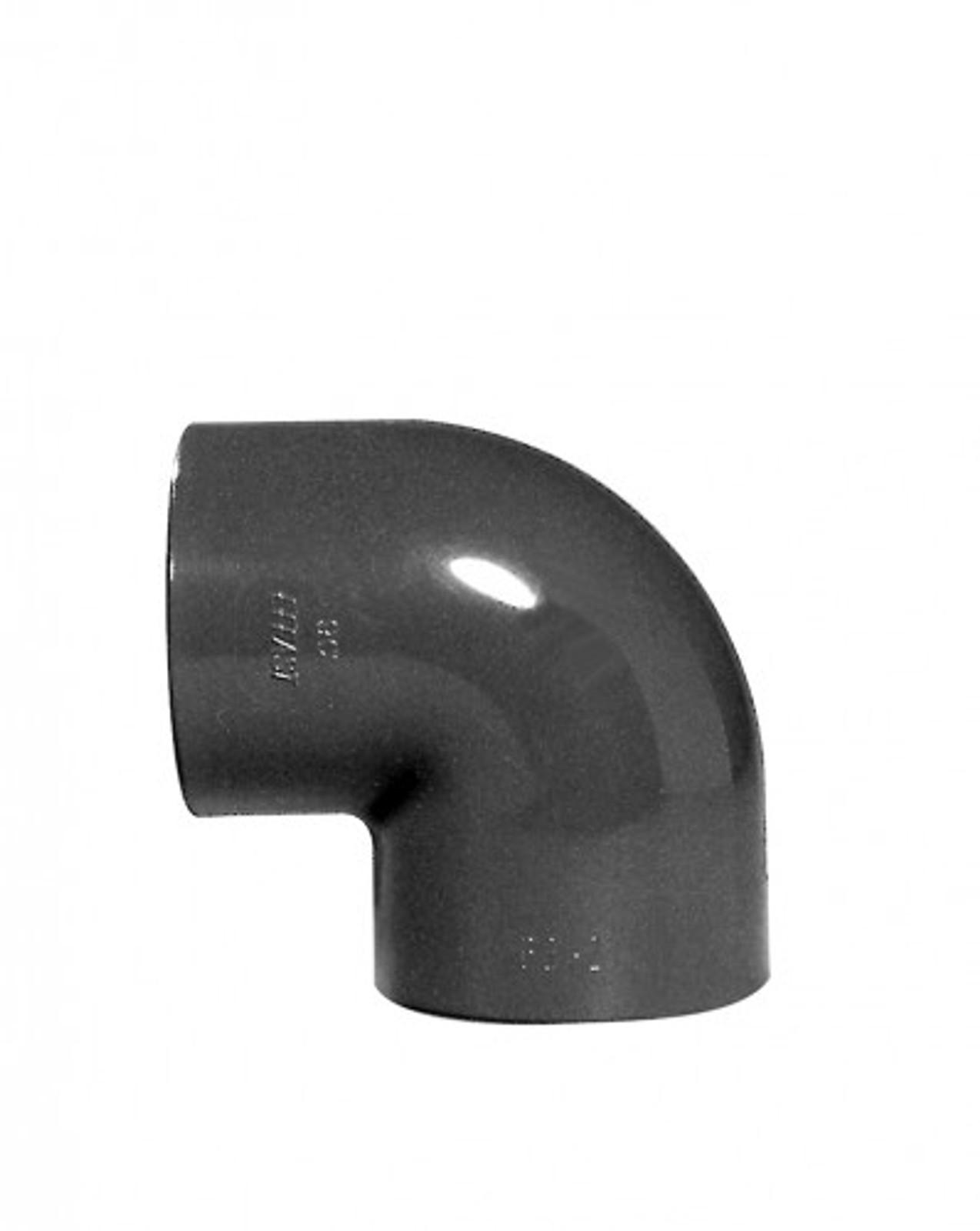 Winkel 90°, 32 mm aus PVC