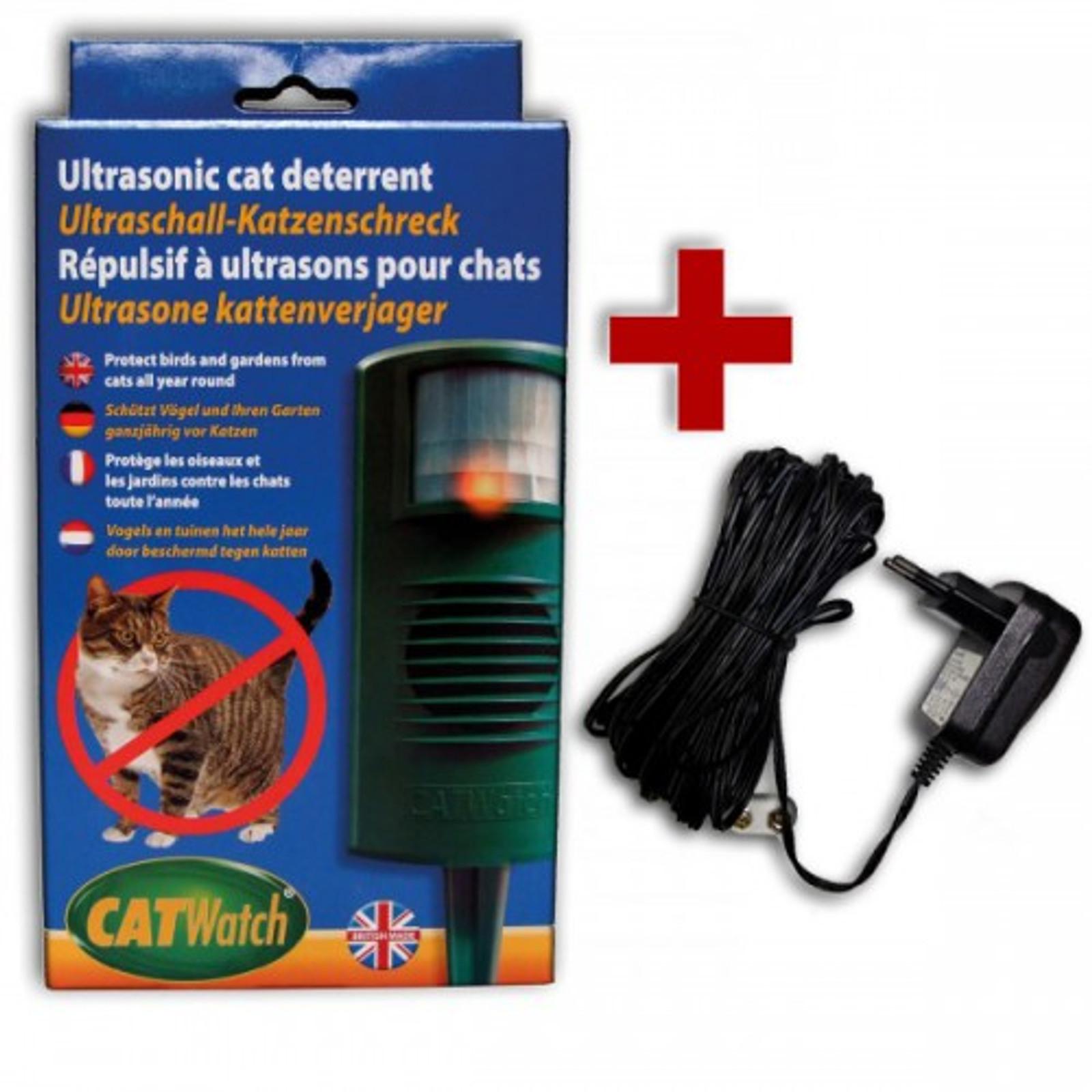 Catwatch SPAR-Set inkl. Netzstromadapter – Bild 1