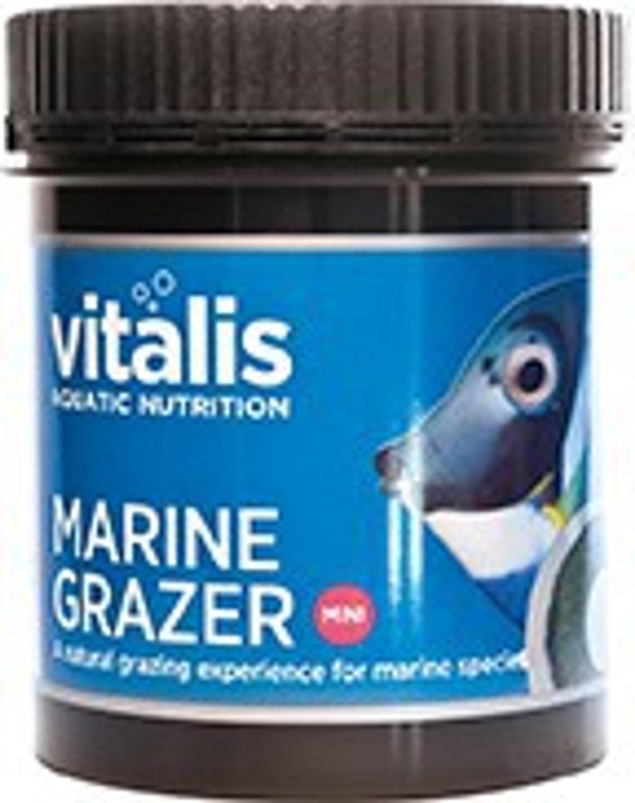 vitalis Marine Grazer 110 g, ca. 26 Stk. inkl. Saugnapf für Meerwasserfische – Bild 1