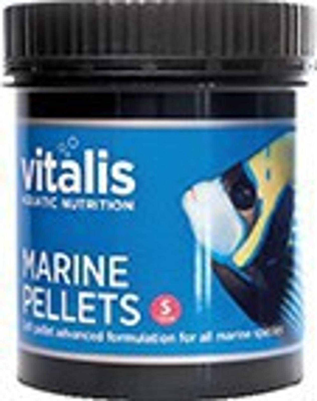 vitalis Marine Pellets 60 g Ø 1 mm für Meerwasserfische – Bild 1