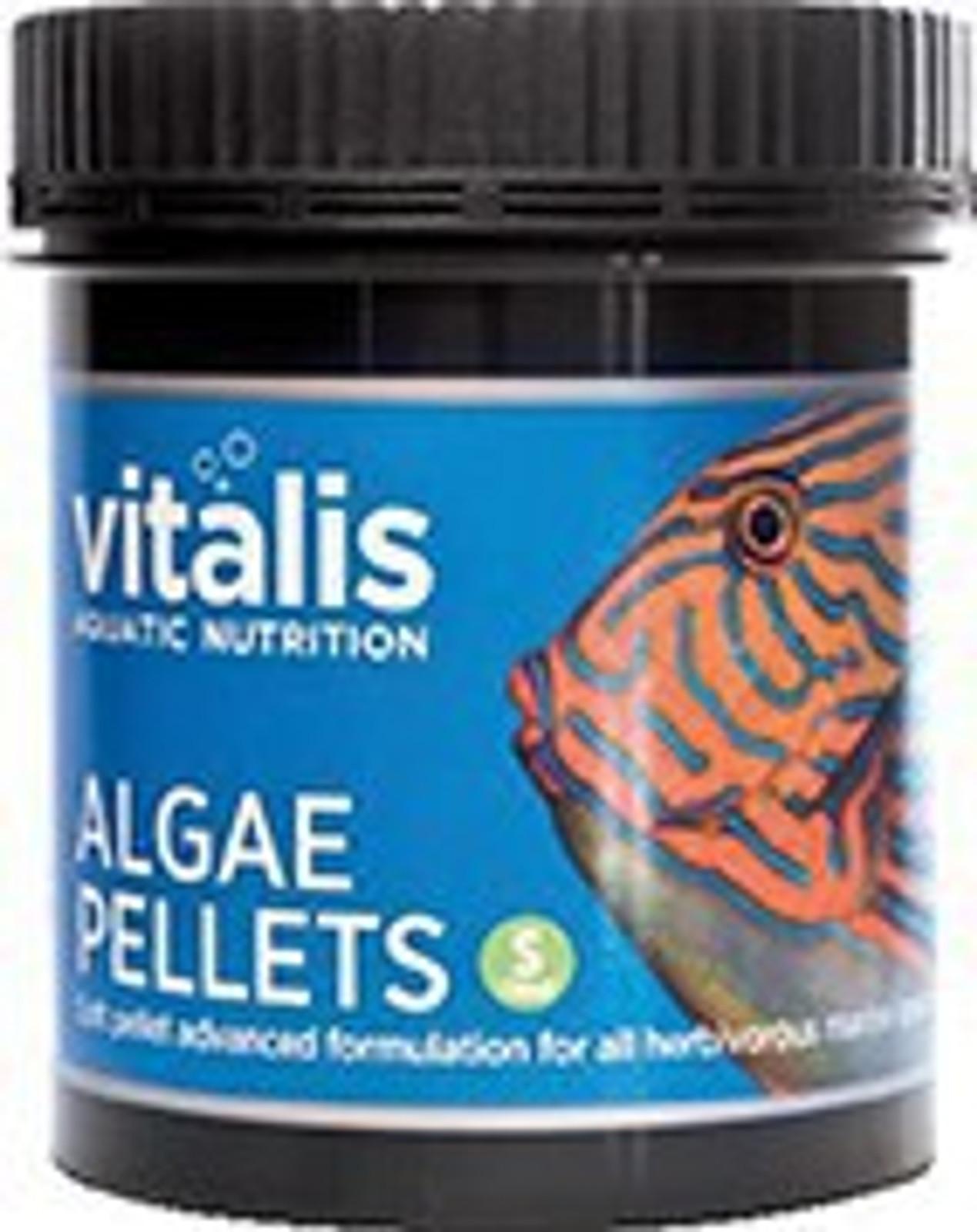 vitalis Algae Pellets 60 g Ø 1 mm für pflanzenfressende Meerwasserfische – Bild 1