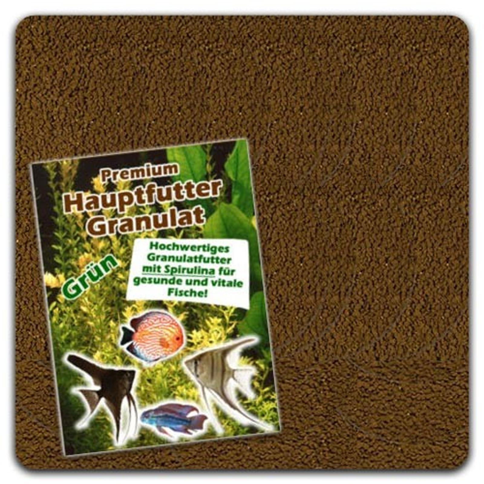 "Aquaristik-Paradies Hauptfuttergranulat ""GRÜN"" 125 g (ca. 250 ml)"